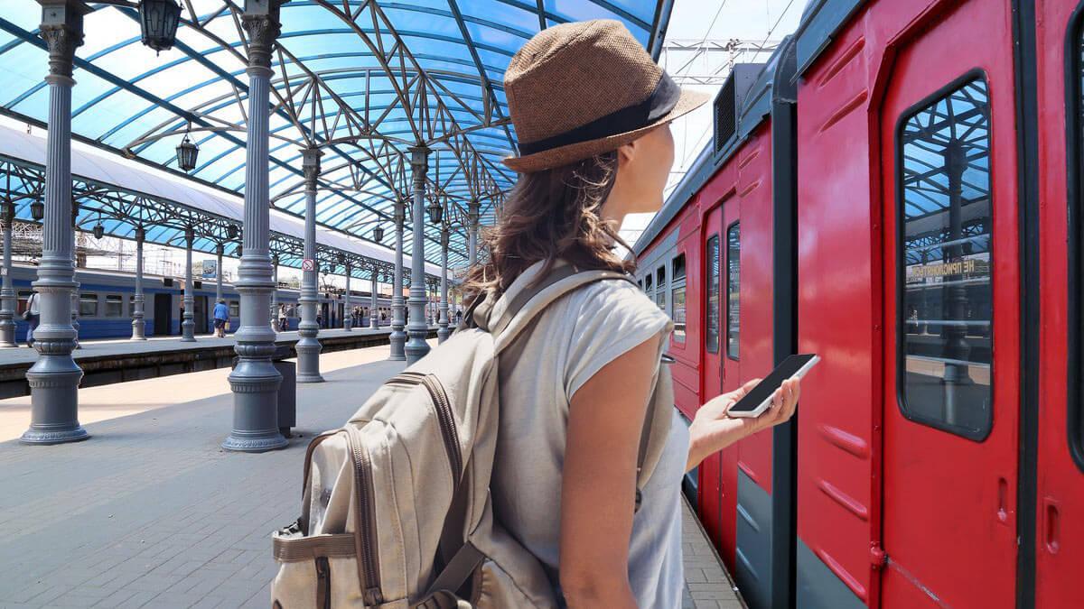путешествие поезд