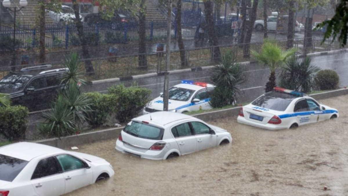 Потоп ливень Сочи