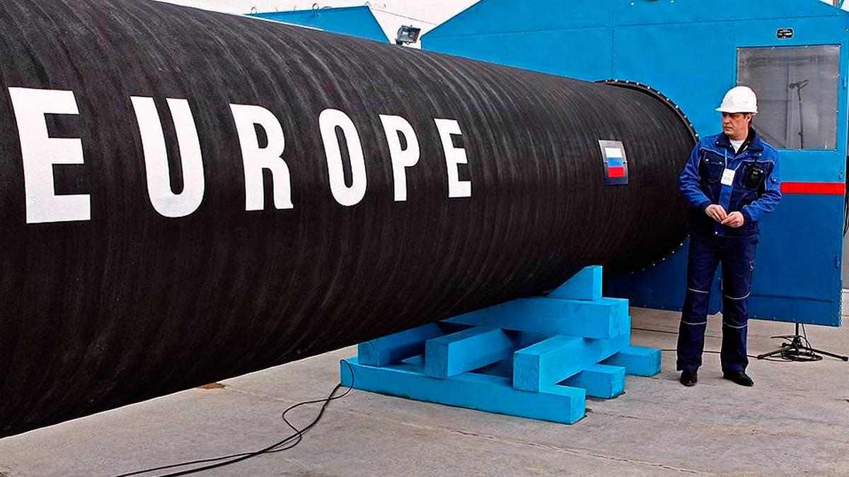 труба газ Европа