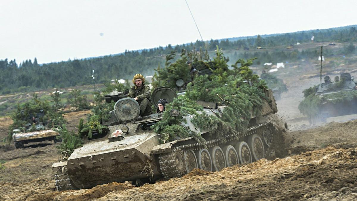 Учения армий Белоруссии и России