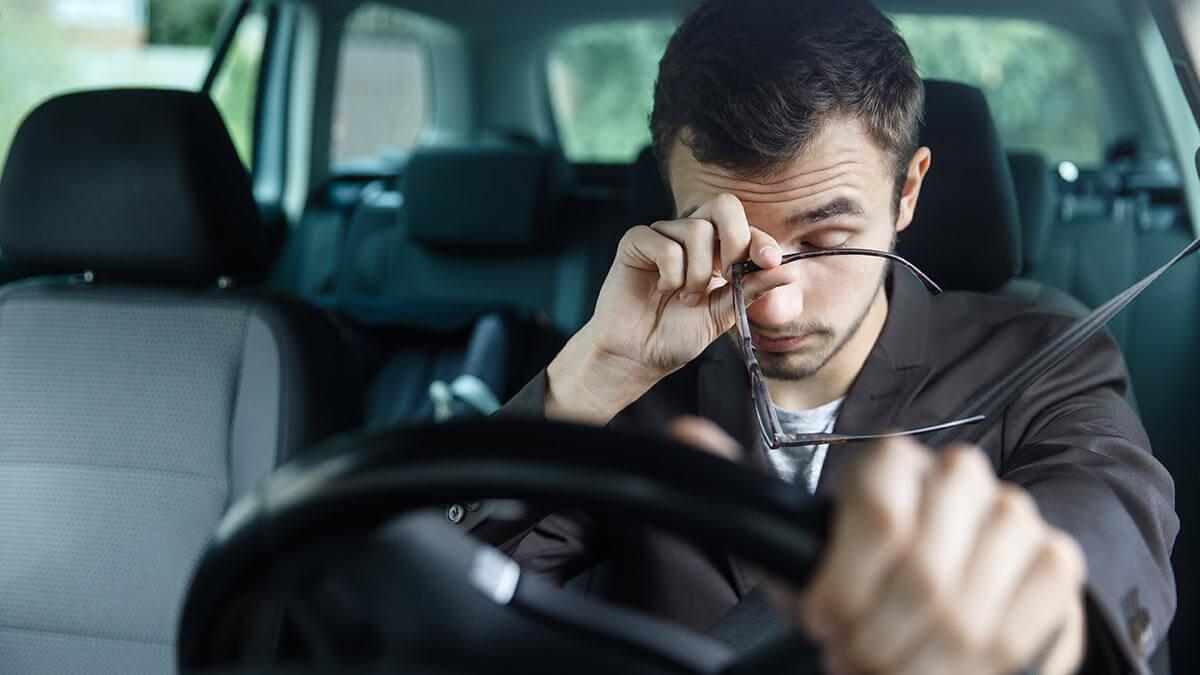 усталость за рулем