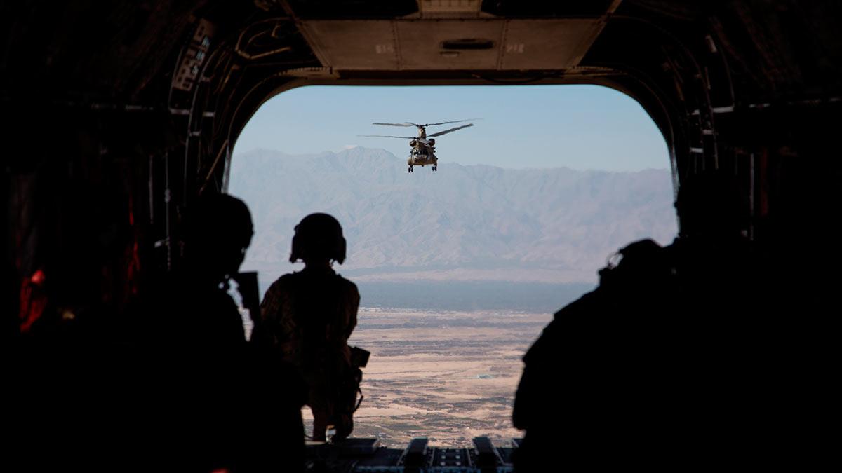 вертолет сша Афганистан