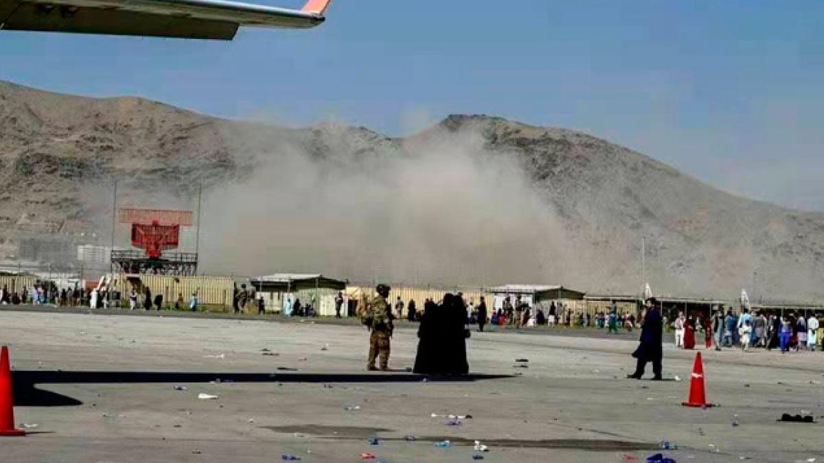 взрыв Кабул аэропорт