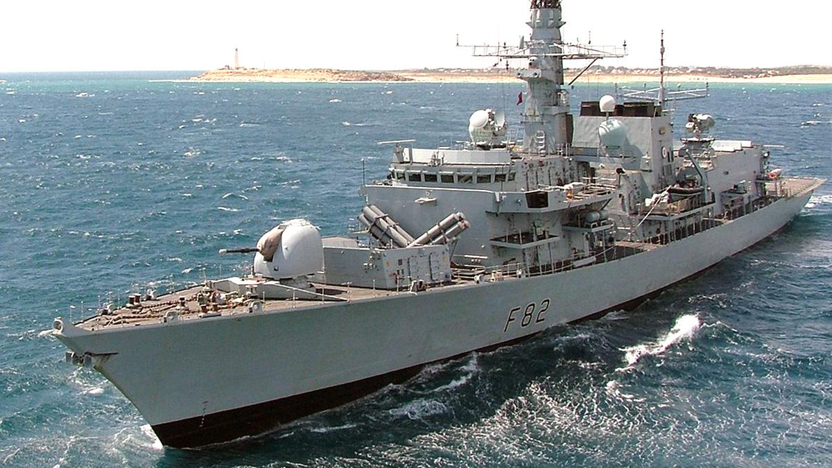 Фрегат типа 23 Королевский флот Британии