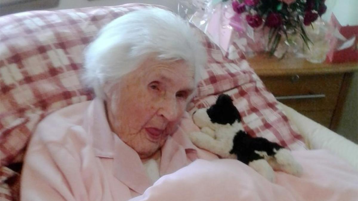 Секрет долголетия 107-летней Элси Скин