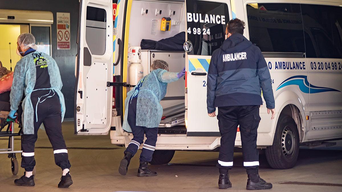 Машина скорой помощи, Франция