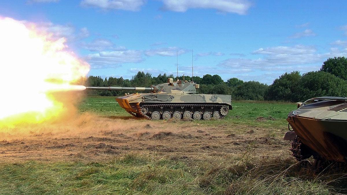 Легкий танк Спрут-СДМ1