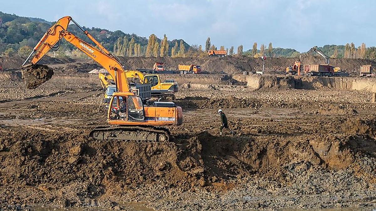 Строительная площадка в Крыму
