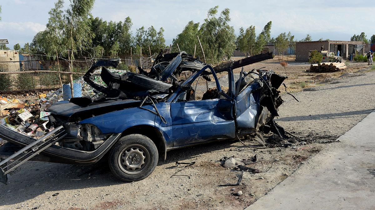 Взрыв автомобиля в Афганистане