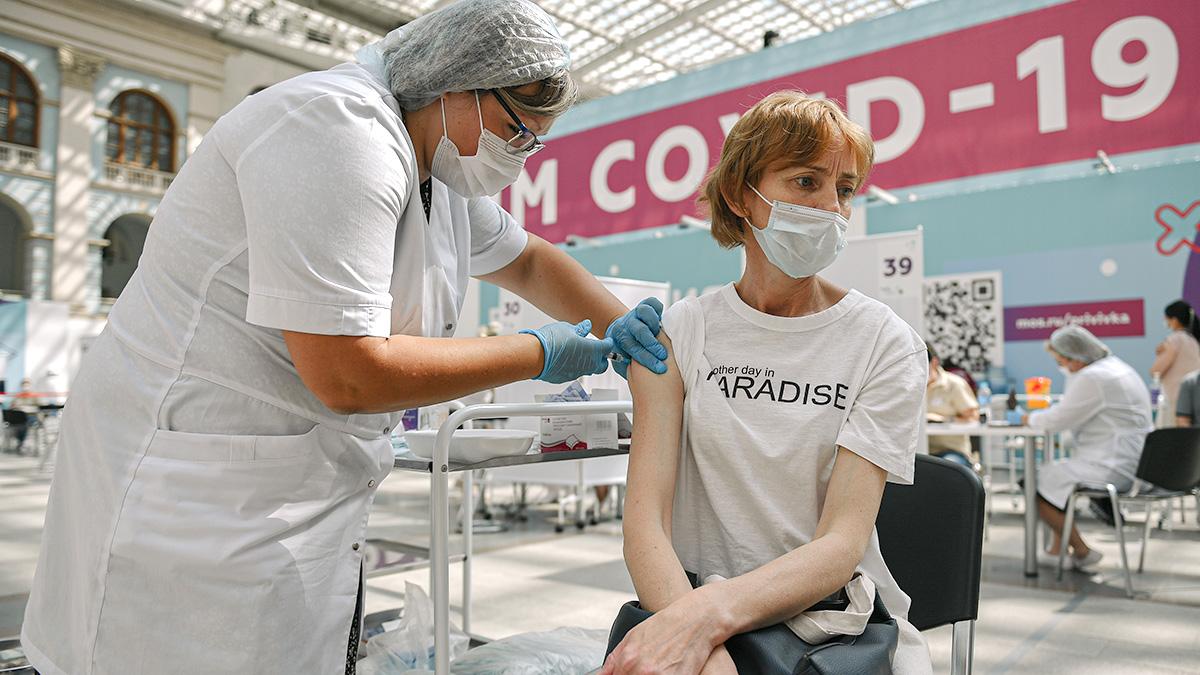 Ковид госпиталь вакцина Россия