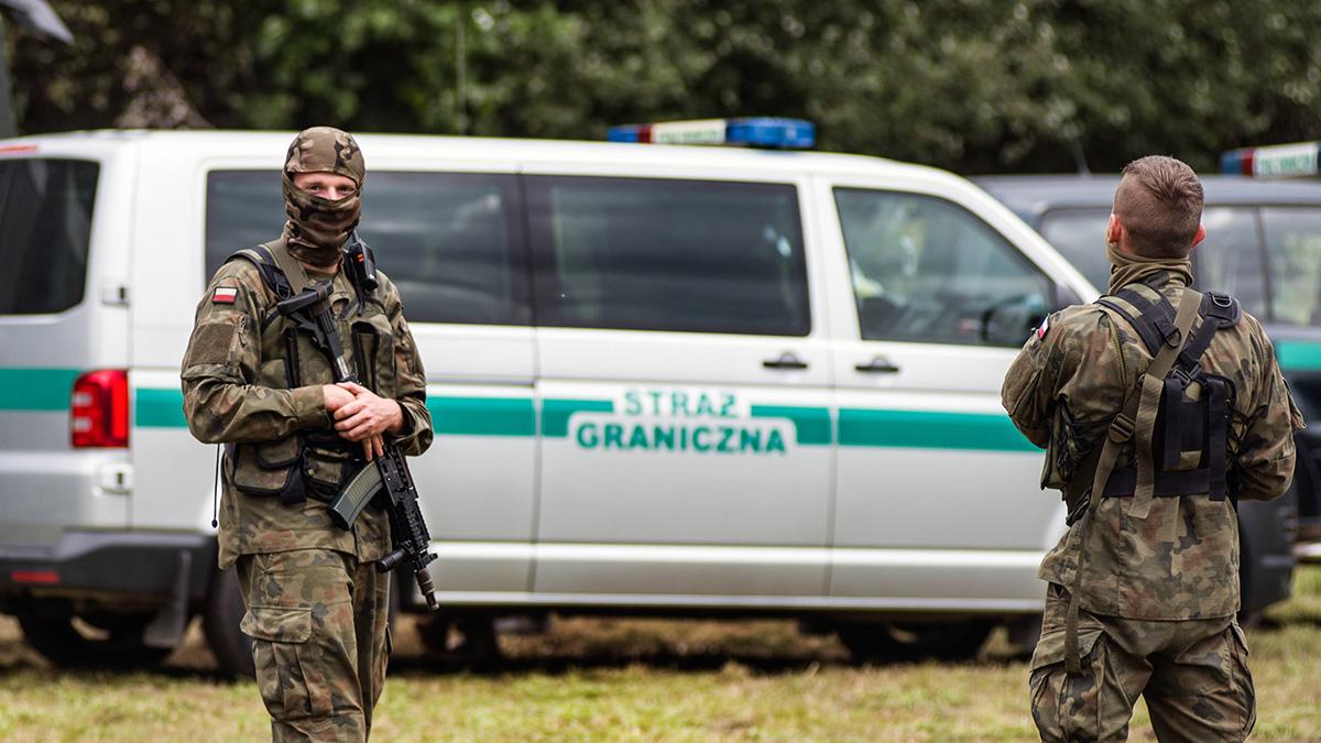 Польша пограничники граница