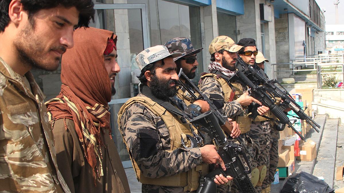 солдаты Талибана в Афганистане