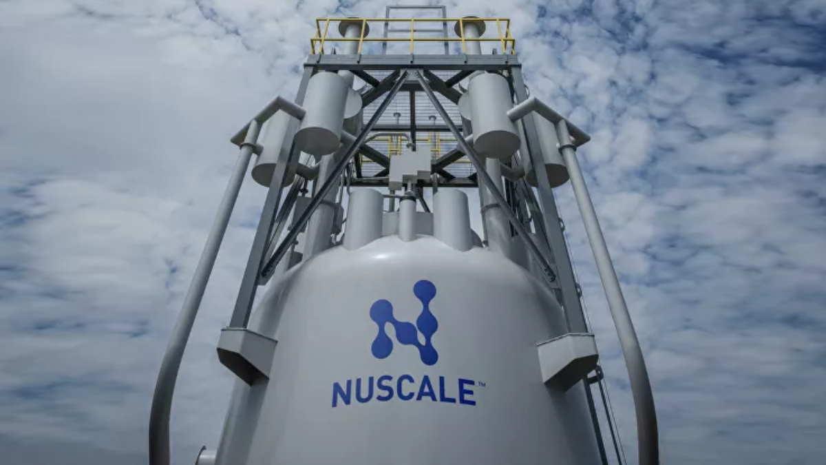 Макет верхней части ядерного модуля NuScale Power