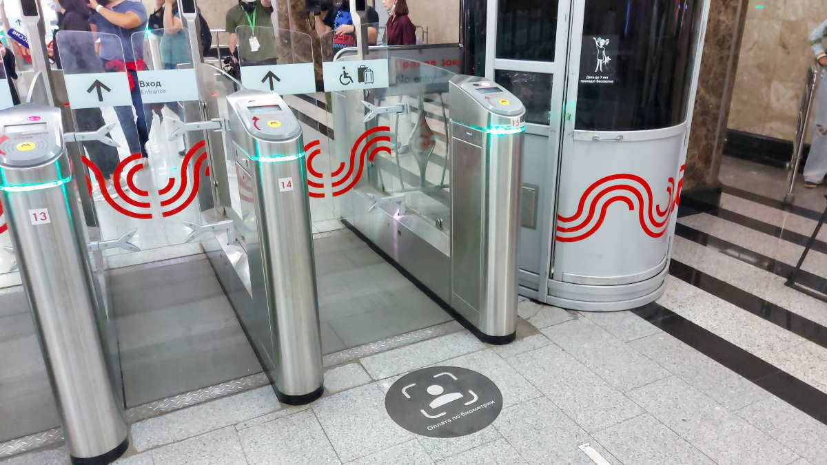 Система Face Pay для оплаты проезда в метро
