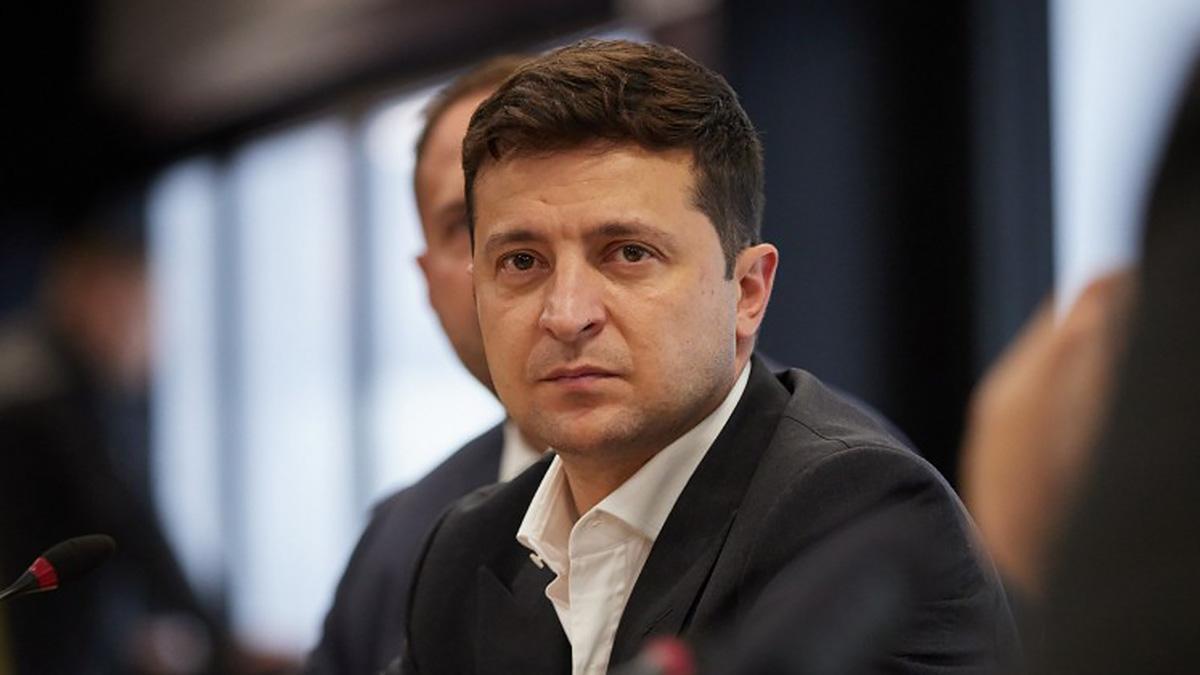 Владимир Зеленский 2021 заявление
