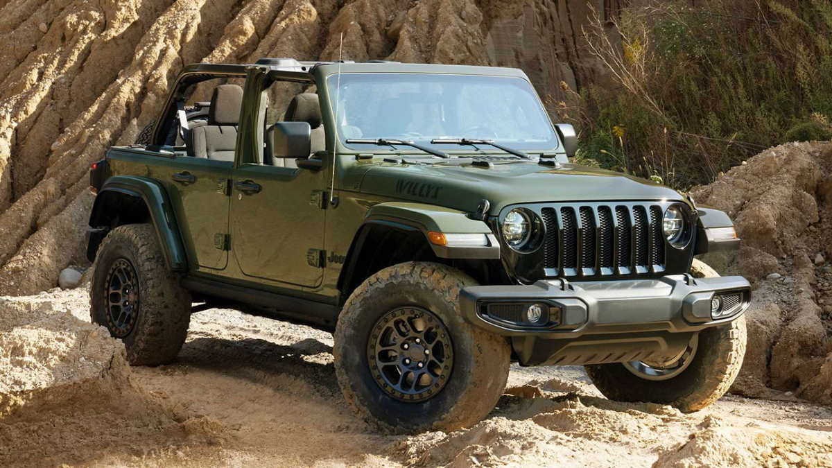 Jeep Wrangler Unlimited Willys Xtreme Recon Edition