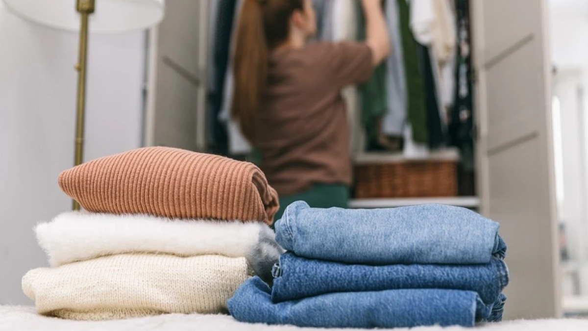 Наведение порядка в гардеробе