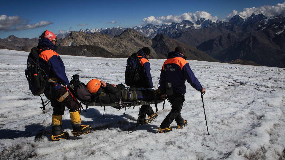 Поисково-спасательная операция на горе Эльбрус