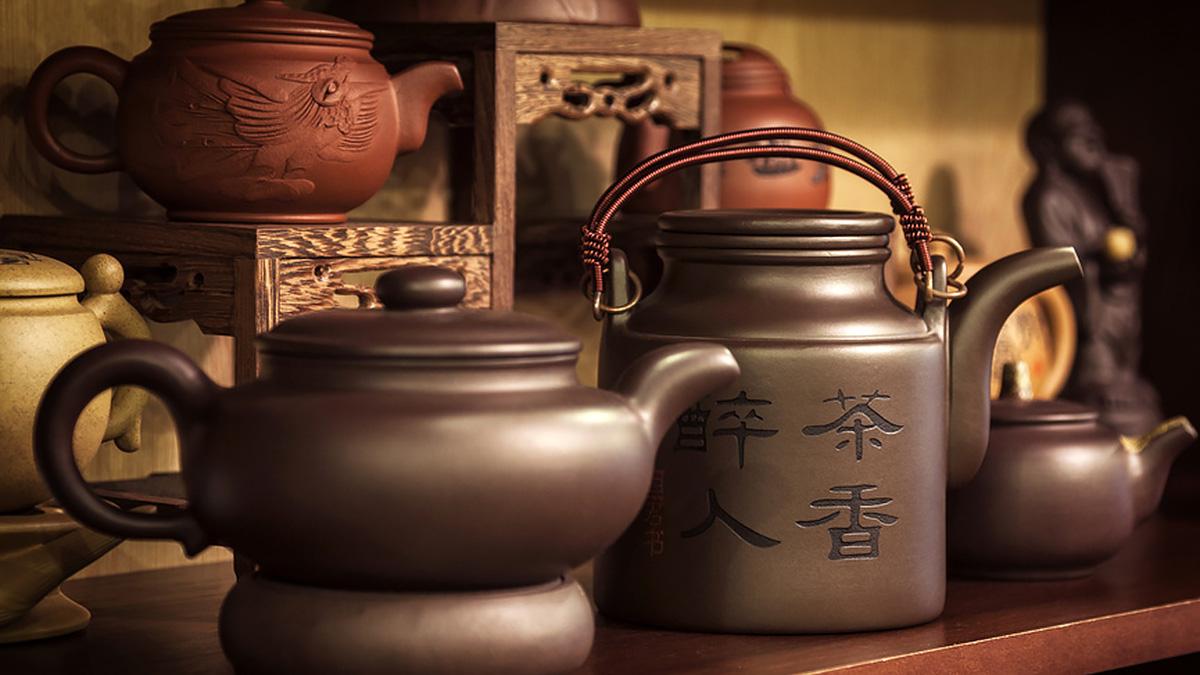 ваби-саби японский стиль чайник