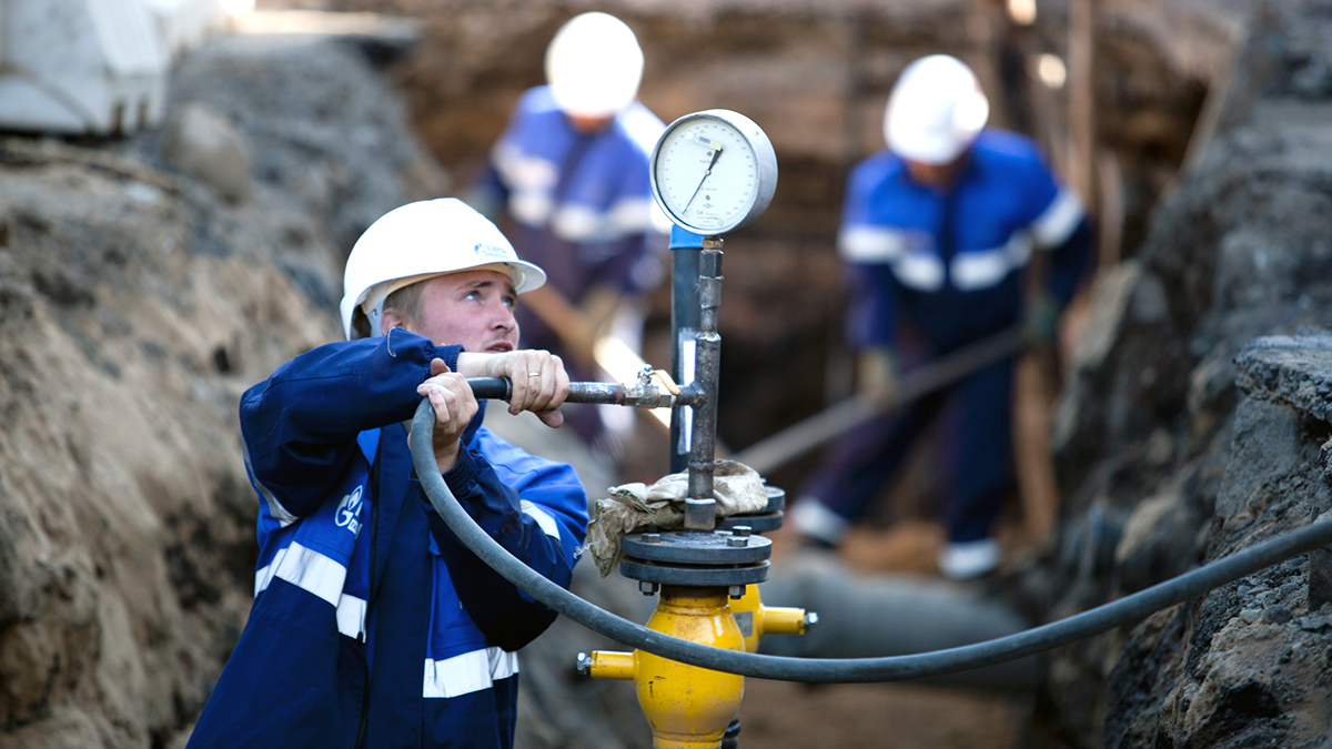 «Газпром» прокачка газа через Украину