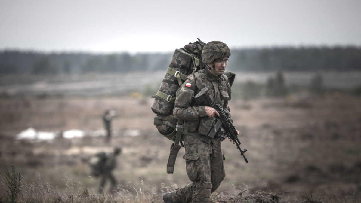 Военные учения Польши