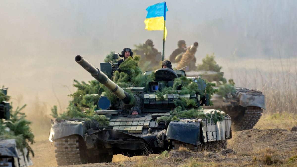 Украинские военные солдаты