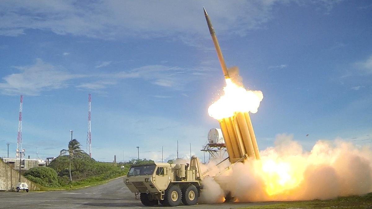 США ракетная установка ПРО баллистическая ракета
