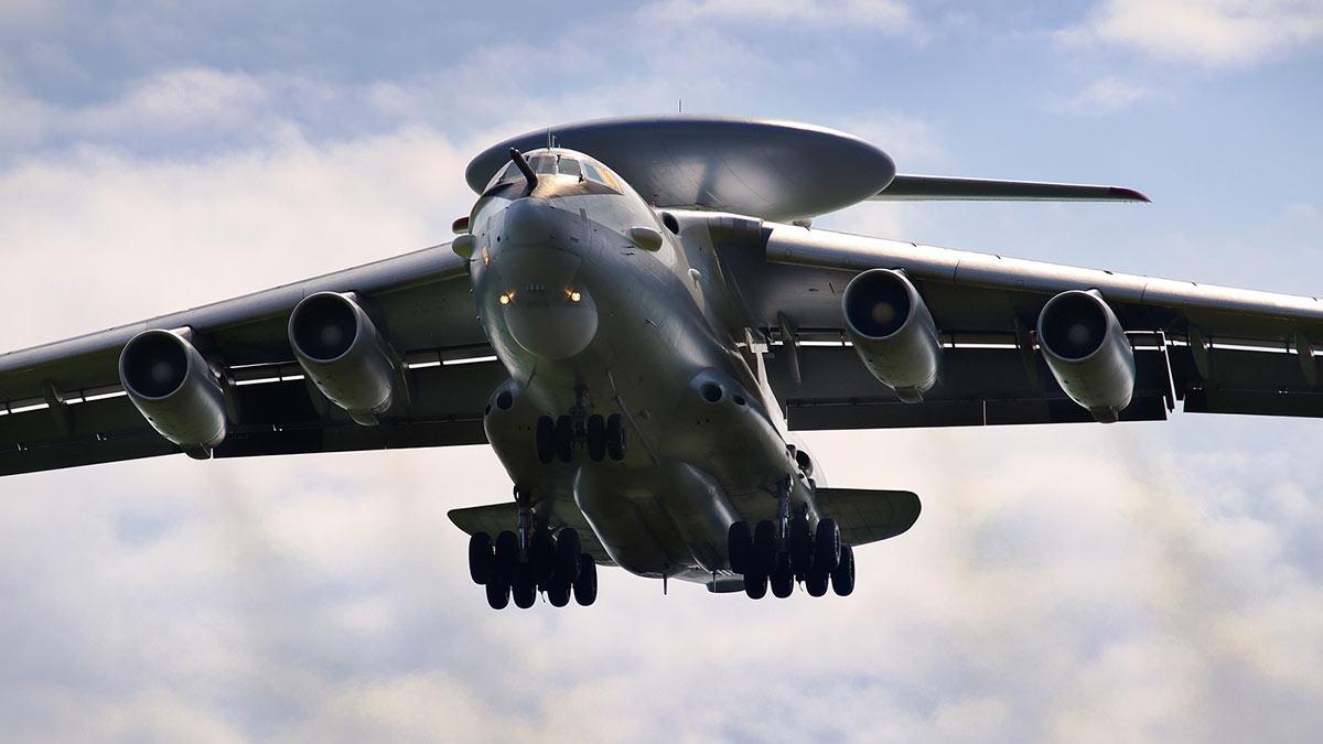 А-50 - самолет дальнего радиолокационного обнаружения