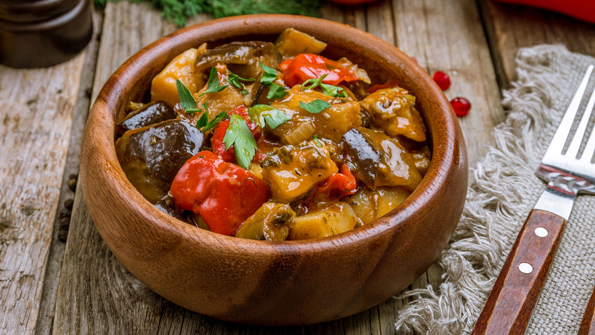 Аджапсандали (овощное рагу по-грузински)