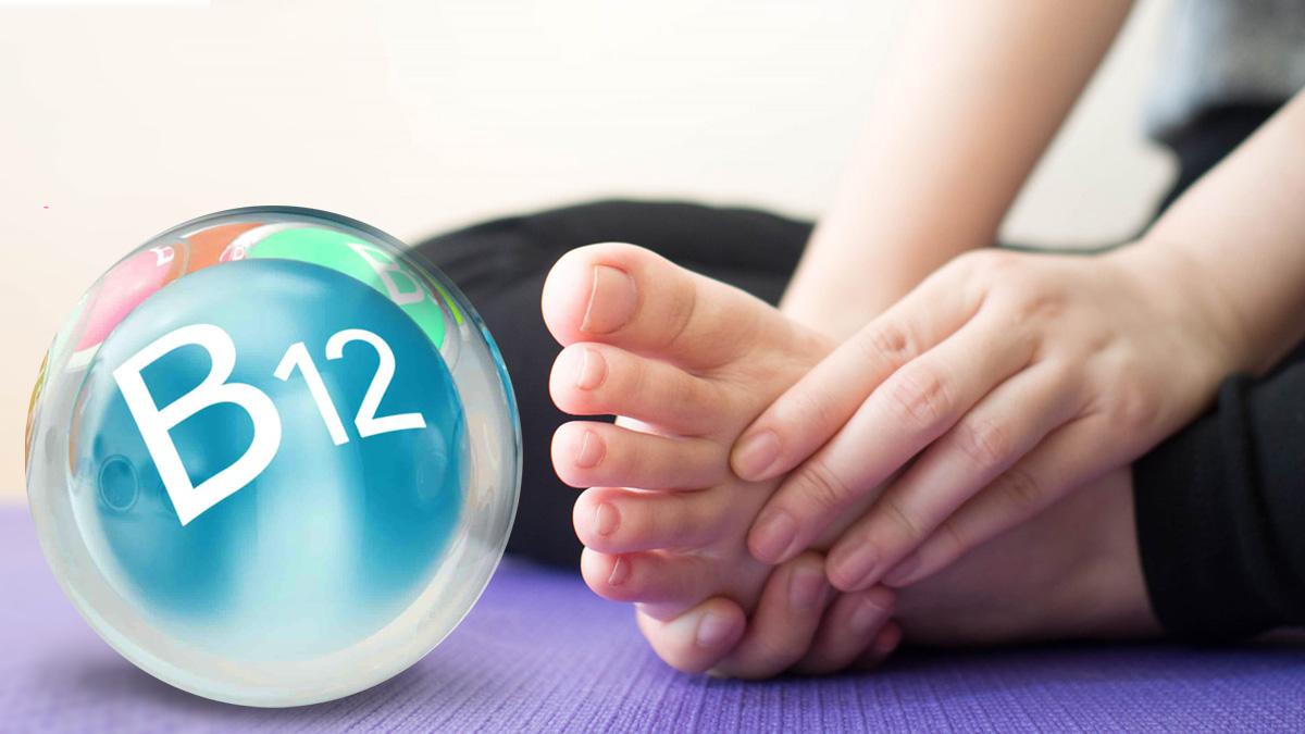 витамин B12 нехватка диета продукты пальцы