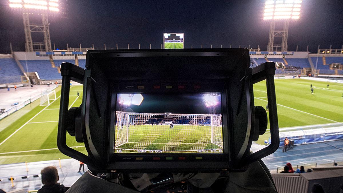 Трансляция футбольного матча