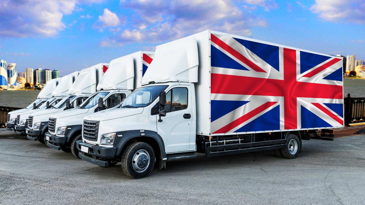 Великобритания грузовики
