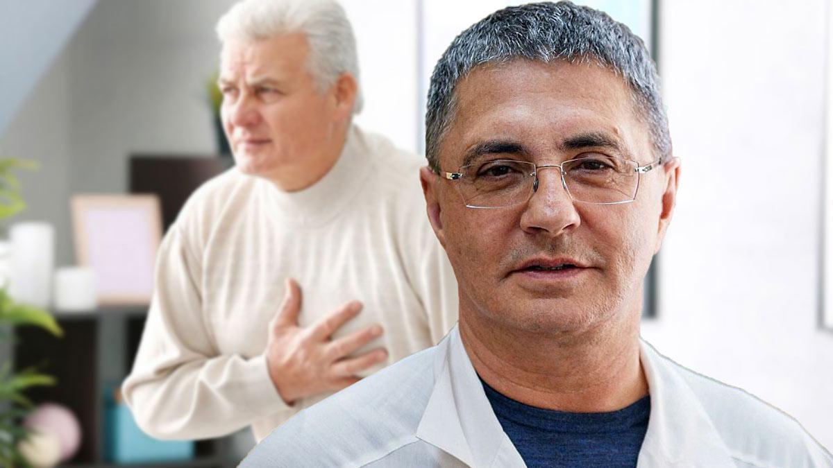 Доктор Мясников рассказал о болях в груди