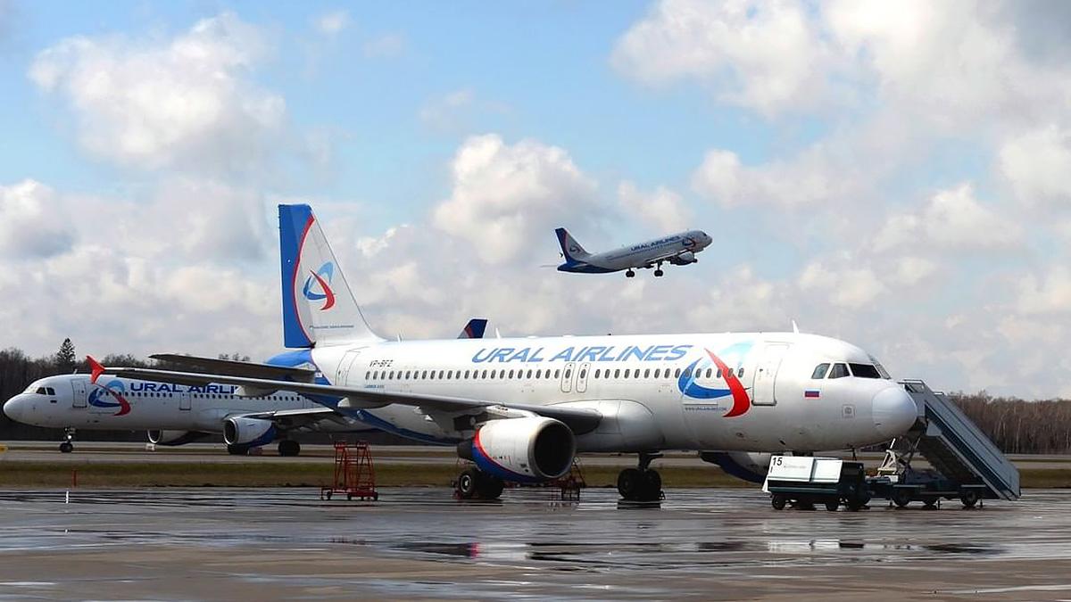Самолеты Уральских авиалиний