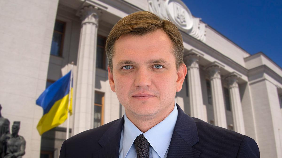Депутат Верховной Рады Юрий Павленко