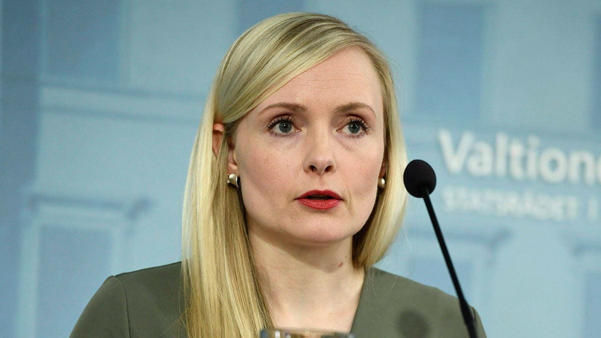 Министр внутренних дел Финляндии Мария Охисало
