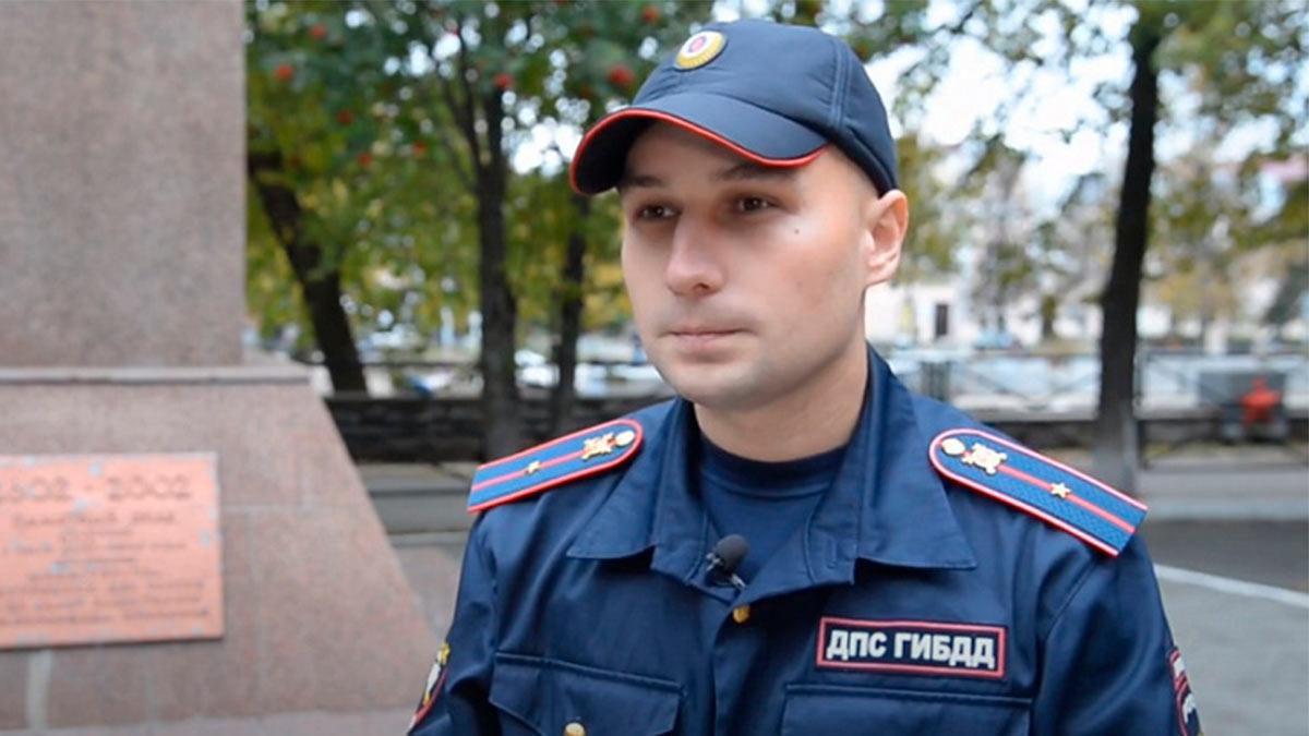 Младший лейтенант полиции Калинин