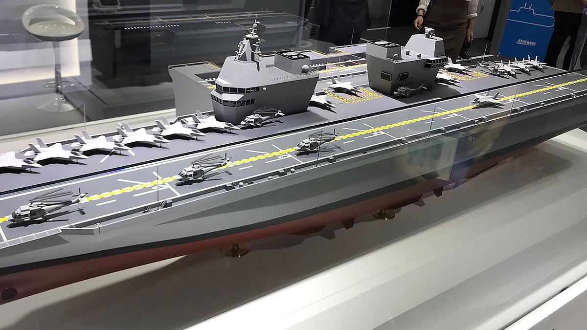 проект авианосца CVX