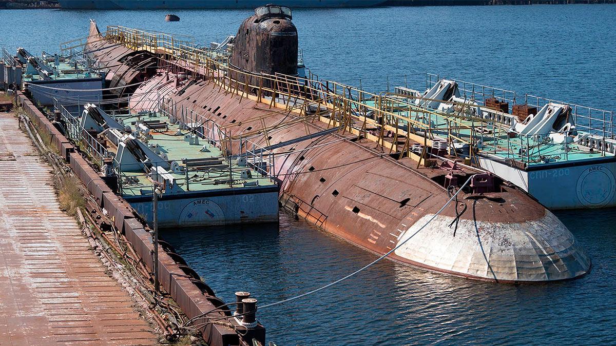 Первая атомная подлодка СССР К-3 «Ленинский комсомол»