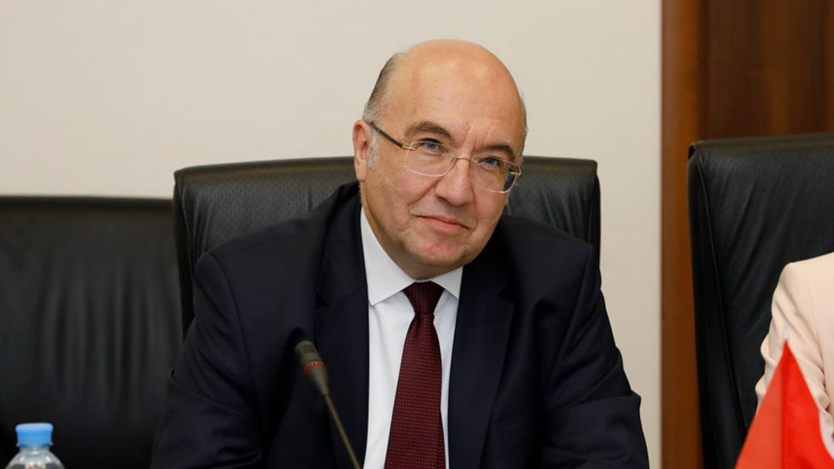 Посол Турции в РФ Мехмет Самсар
