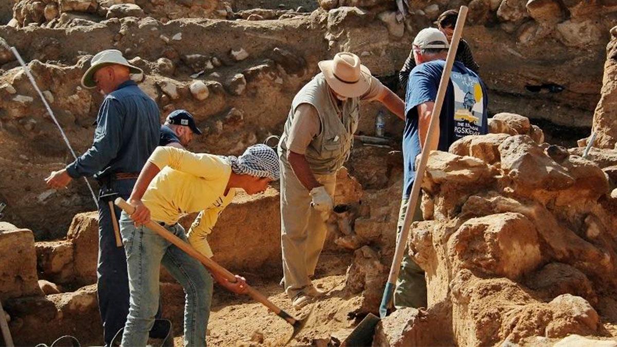 Раскопки в Телль Аль-Хаммам
