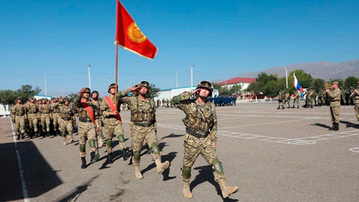 Рубеж - 2021 в Киргизии