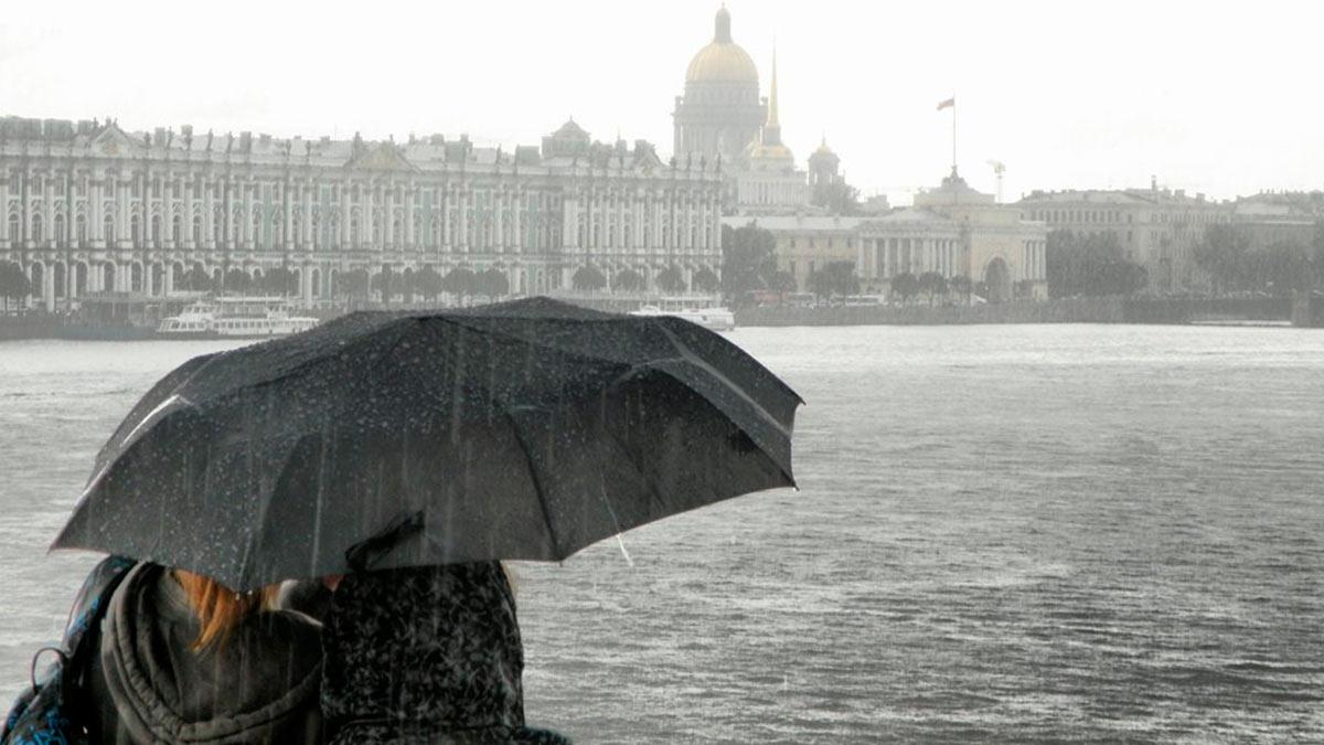 Санкт-Петербург холод ветер