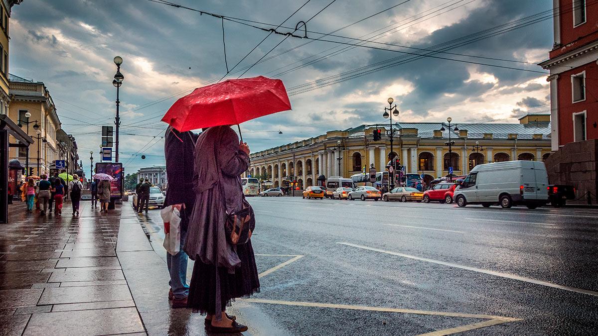 Санкт-Петербург тучи