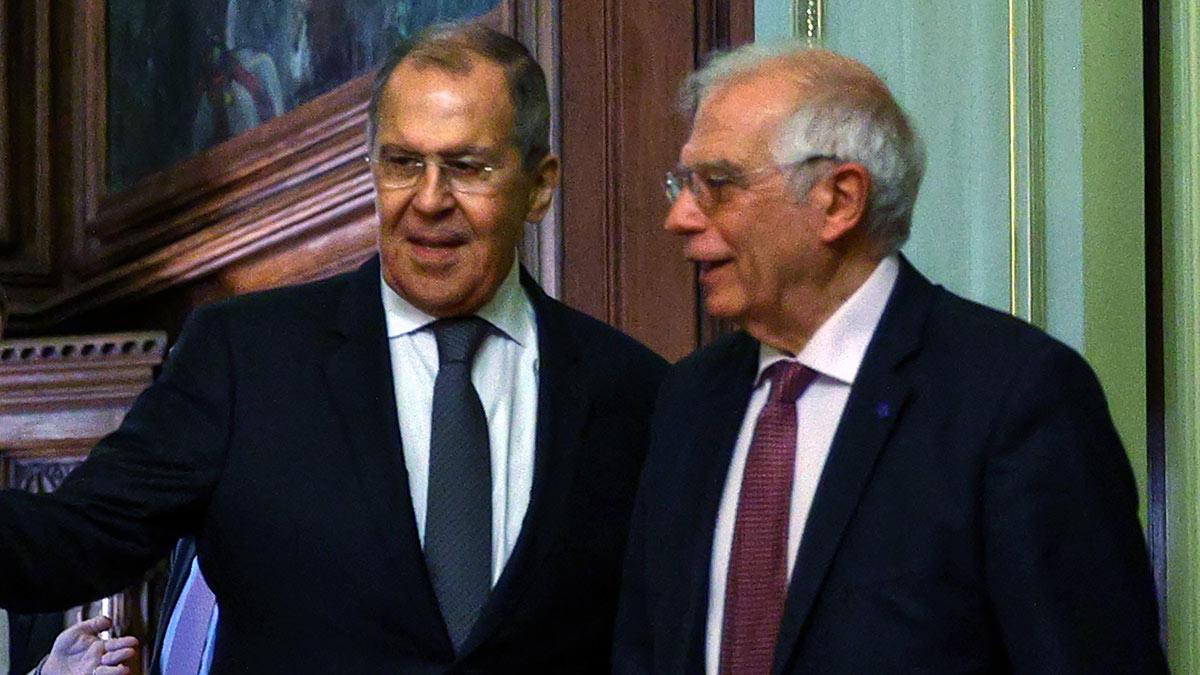 Встреча Сергей Лаврова и Жозепа Борреля