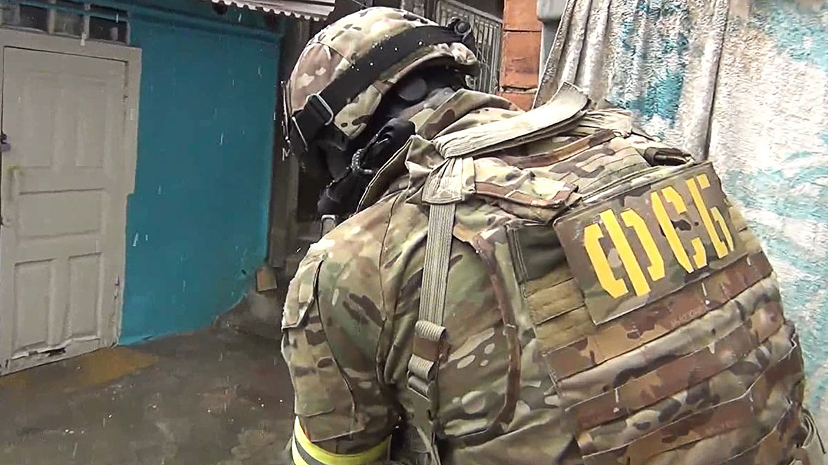 Сотрудник ФСБ России во время спецоперации