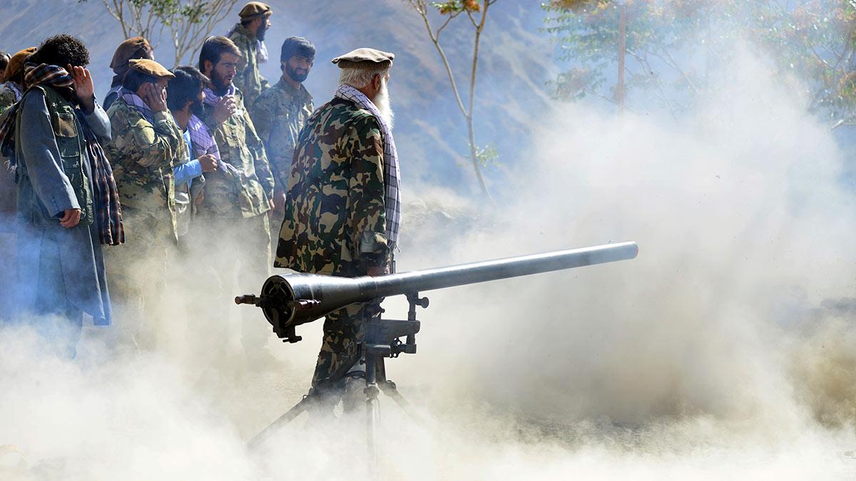 ополченцы анти-Талибан