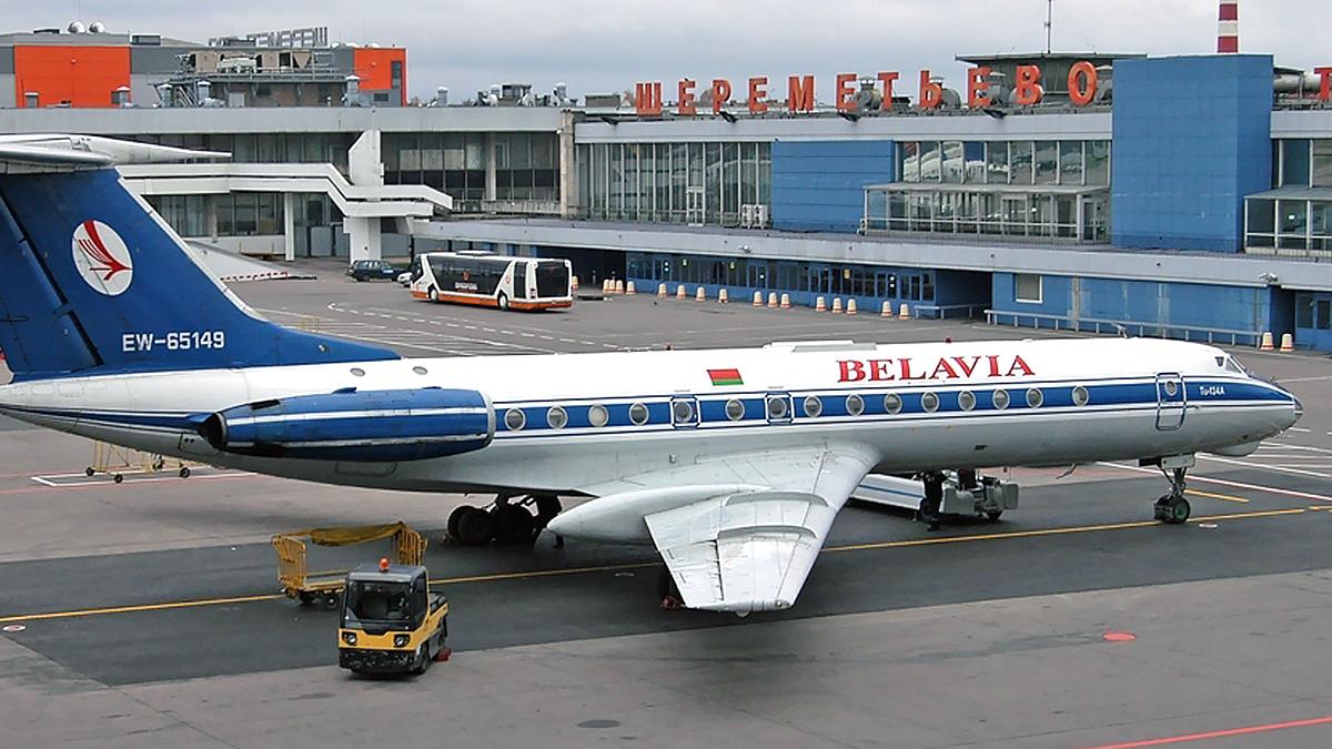 Авиасообщение с Белоруссией самолет Белавиа