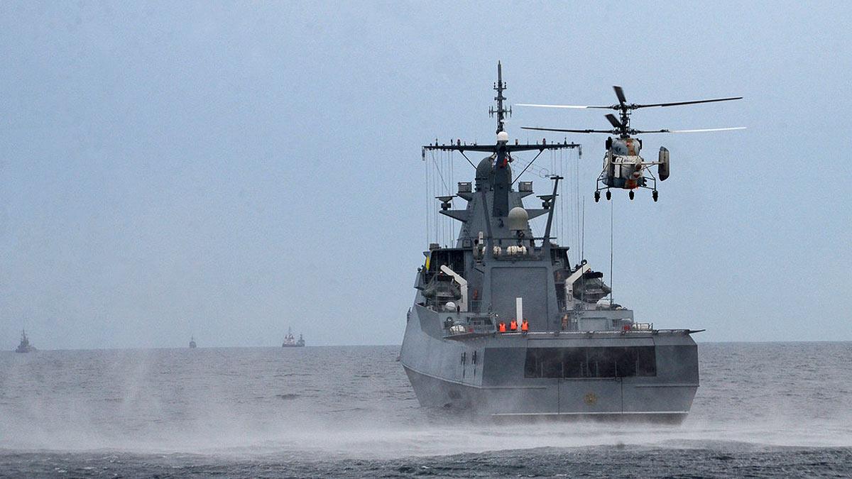 Корабли Черноморского флота провели учения
