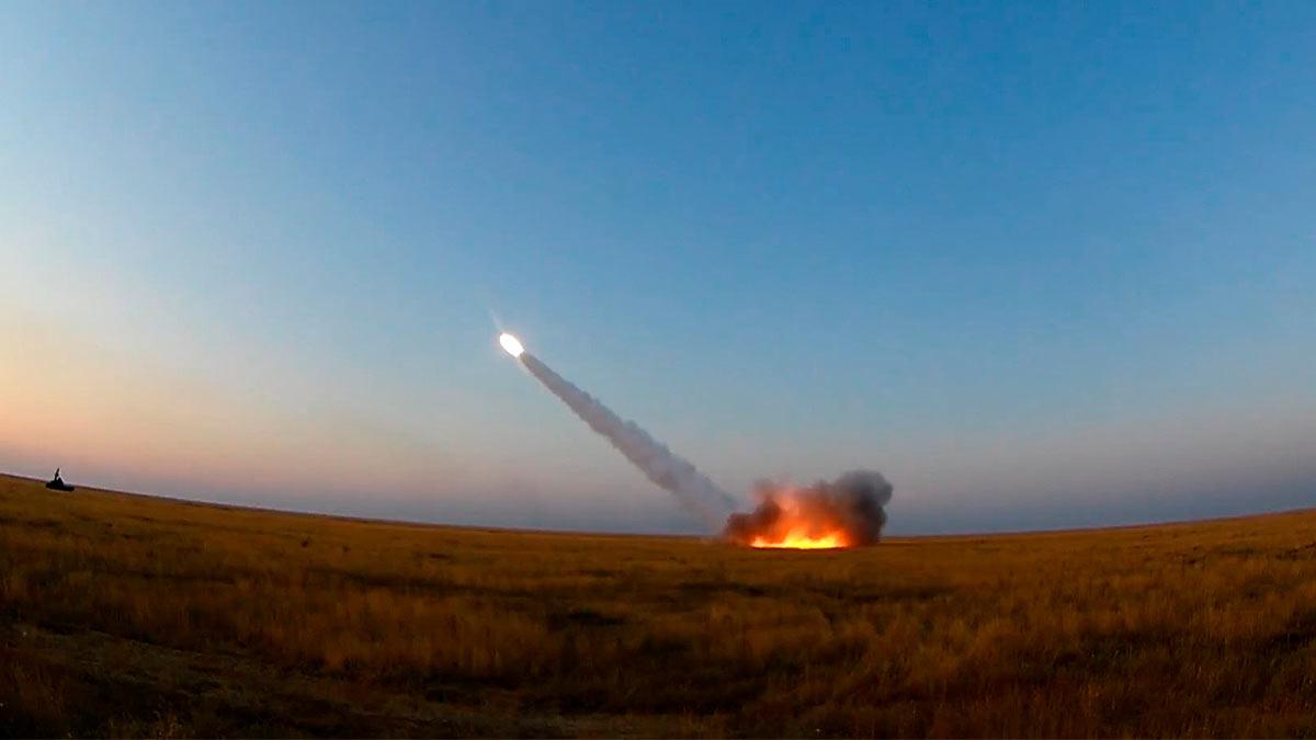 Уничтожение цели российским Бук-М3